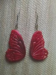 Red Butterfly Earrings2